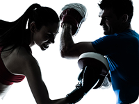 We offer boxing lessons
